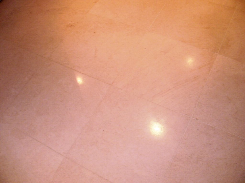 Limestone Tiles After Cleaning