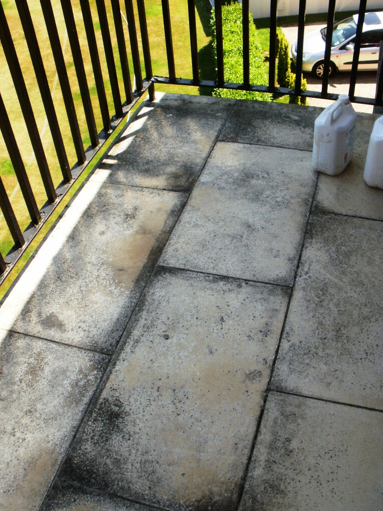 Limestone-Balcony-NW8-Before-Cleaning