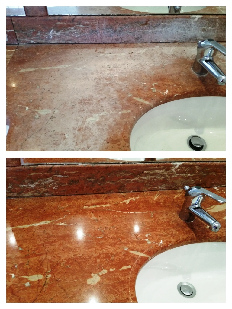Removing Soap Scum From Marble Worktops Marble Tile Cleaning And Polishing